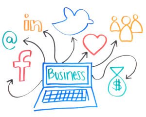use social media to spread the word about your brand or business