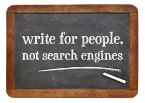 write for people not google